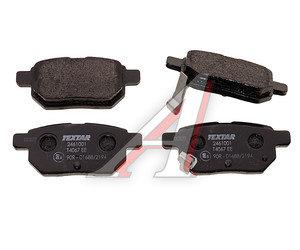 Колодки тормозные HONDA CR-V 2 задние (4шт.) TEXTAR 2423101, GDB3269, 43022-S9A-E00/43022-S9A-010/43022-SG0-020/43022-TL