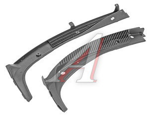 Накладка ВАЗ-1118 рамки ветрового окна комплект 1118-8212734/35, 1118-8212735