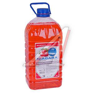 Жидкость омывателя -20С клубника 4л NIAGARA ОЖ 20-4 NIAGARA