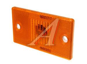 Фонарь габаритный оранжевый полуприцепа (12V, 65х115 мм) Руденск 4432.3731