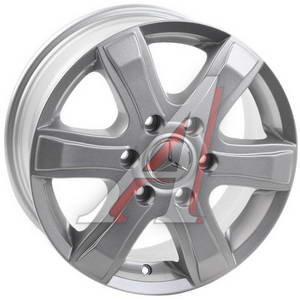 Диск колесный литой MERCEDES Sprinter R16 MB92 S REPLICA 6х130 ЕТ62 D-84,1