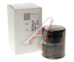 Фильтр масляный PEUGEOT 4007 CITROEN C4 OE 1109.CG, OC196