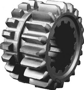 Шестерня КПП МТЗ 1-й ступени редуктора ведущая Z=20/20 (внутренний шлиц-длинный) РУП МЗШ 50-1701196