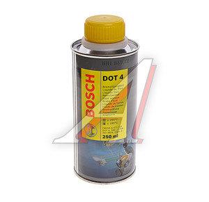 Жидкость тормозная DOT-4 0.25л BOSCH BOSCH DOT-4, 1987479001/1987479105