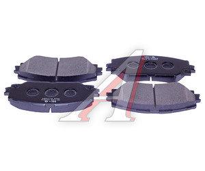 Колодки тормозные TOYOTA Auris (06-12) (Япония),Corolla (07-13) передние (4шт.) SANGSIN SP2093, GDB3425, 04465-12610/04465-42160