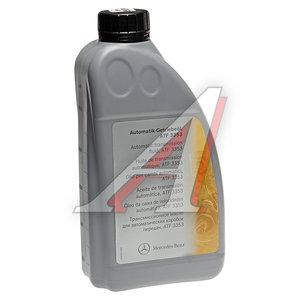 Масло трансмиссионное MERCEDES ATF 1л для АКПП (спецификация 236.12) OE A001989450310, MERCEDES ATF