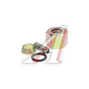 Ремкомплект трубки тормозной пластиковой d=10х1.5 (1гайка,1штуцер,1шайба,1кольцо) РК-ТТП-d10х1.5, РК-ТТП-d10х1.0
