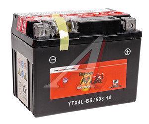 Аккумулятор BANNER Bike Bull 3А/ч 6СТ3 YTX4L-BS 503 014 003, 84056