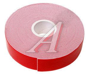 Скотч двухсторонний 22ммх5м красный профессиональный MEGAPOWER ET-225PRO,