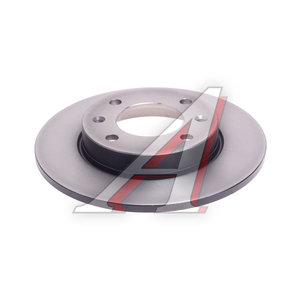 Диск тормозной PEUGEOT 307 CITROEN C2,C3,C4 задний (1шт.) TRW DF4185