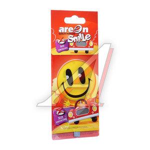 Ароматизатор подвесной пластина (антитабак) Smile AREON ASD13