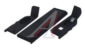 Полка багажника ВАЗ-2108-09-14 акустическая с боковинами ЛЮКС ПЛ01258-2108-09-14, 2108-5607010