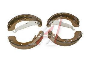 Колодки тормозные CHEVROLET Rezzo (00-) задние барабанные (4шт.) OE 96394977