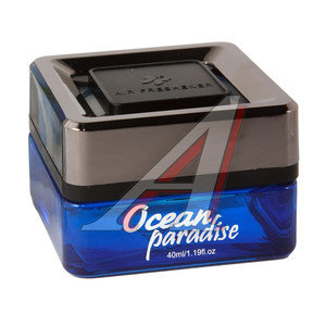 Ароматизатор на панель приборов гелевый (франжипани) Бали 40мл Ocean Paradise FKVJP OPQ-99