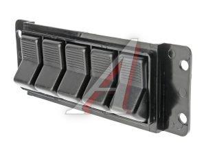 Блок выключателей ЛАЗ,ПАЗ,ЛИАЗ (5-и клавишный) АВТОАРМАТУРА 53.3710-01.17