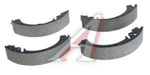 Колодки тормозные ВАЗ-2101 задние (4шт.) ATE Германия 03.0137-0232.2, 650 232, 2101-3502090