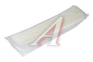 Хомут-стяжка 400х5.0 пластик белый (100шт.) CT-400х5.0