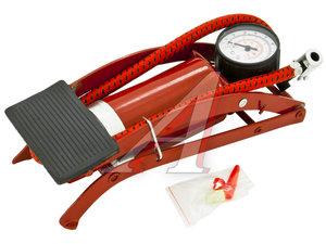 Насос ножной 1-цилиндровый с манометром АВТОСТОП AB-51010