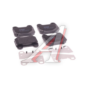 Колодки тормозные SUBARU Impreza (01-07) задние (4шт.) TRW GDB3350, 26696-FE001