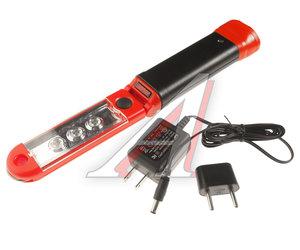 Лампа переносная аккумуляторная с изменяемым углом наклона 45град., 3 светодиода, 3Вт JTC JTC-5225