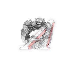 Гайка М14х1.5х11х22 УАЗ пальца рулевого разрезная ЭТНА 250978-П29, 250978-0-29