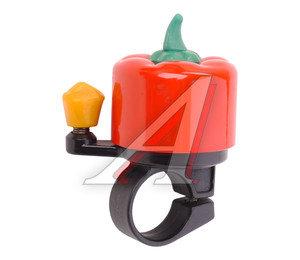 Звонок велосипедный JH-809-R красный 210019,