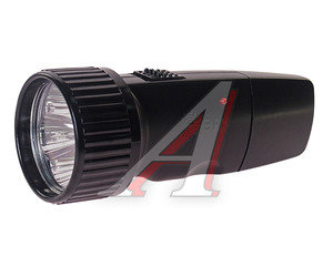 Фонарь LED BLACK аккумуляторный 5 светодиодов 13см 220V ЭРА SDA30M-Box, ER-SDA30M-Box,