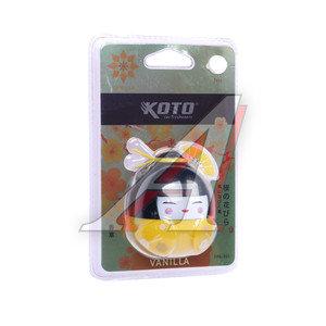 Ароматизатор на дефлектор жидкостный (ваниль) Гейша KOTO FPG-501