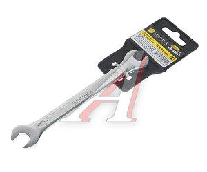 Ключ рожковый 10х11мм CrV Pro ЭВРИКА ER-51011