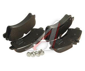 Колодки тормозные MERCEDES Sprinter VW Crafter передние (4шт.) FENOX BP43070, GDB1699, A 005 420 74 20