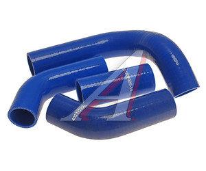 Патрубок ГАЗ-3302 дв.УМЗ-421 радиатора комплект 4шт. силикон ТК МЕХАНИК 3302-1303000умзС, 06-13-268М,