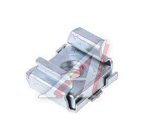 Гайка М4-4 квадратная кузовная (0.7-1.7) DIN4-4