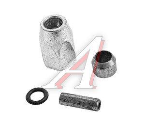Ремкомплект трубки тормозной пластиковой d=8х1.0 (1гайка,1штуцер,1шайба) РК-ТТП-d8Х1.0, РК-ТТП-d8х1.0