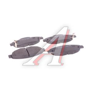 Колодки тормозные HONDA CR-V 3 (07-) передние (4шт.) HSB HP9247, GDB3445, 45022-SWW-G00