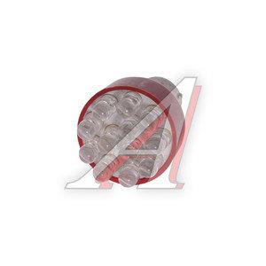 Лампа светодиодная P21W 21W BA15s 12V Red MEGAPOWER M-30401R