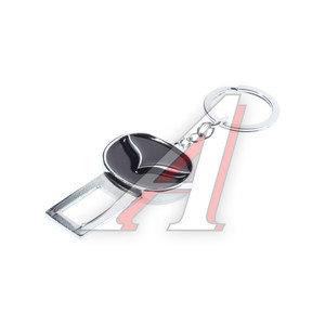 Заглушка ремня безопасности брелок с логотипом MAZDA 10406