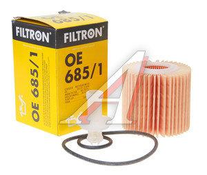 Фильтр масляный TOYOTA Camry (3.5) (09-) FILTRON OE685/1, OX414D1, 04152-YZZA1