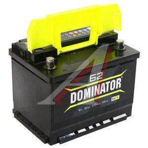 Аккумулятор DOMINATOR 62А/ч обратная полярность 6СТ62з, 83199
