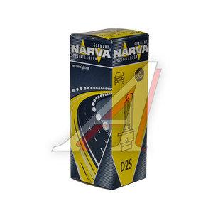 Лампа ксеноновая D2S 35W P32d-2 85V 4300K NARVA 84002, N-84002