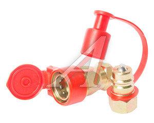 Головка соединительная тормозной системы прицепа 22мм (грузовой автомобиль) красная комплект NEW FER 100-3521010/11 (красная), АТ-371к/AT12385, 100-3521010