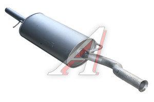 Глушитель ВАЗ-2112 Н/О (07-) (1.6) Баксан 2112-1201005Б, 2112-1200010