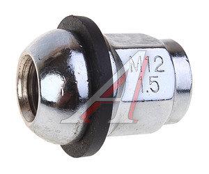 Гайка колеса М12х1.5х33 HONDA сфера закрытая колпачок под ключ 19мм RACING RACING, ORIGINAL