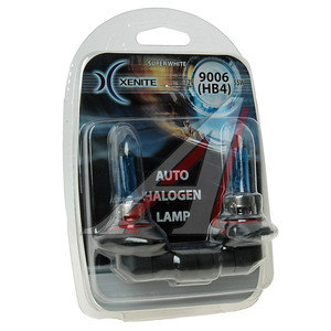 Лампа HB4/9006 12V 55W Super White блистер (2шт.) XENITE XENITE 9006, 1007041