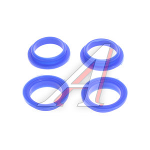 Уплотнитель ЗМЗ-406 колодца маслоотражателя Н/О комплект силикон синий БАД 406.1007248-10
