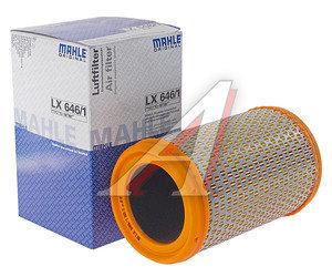 Фильтр воздушный RENAULT Clio,Kangoo,Twingo (1.2) MAHLE LX646/1, 7701065985