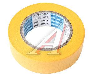 Скотч малярный 18ммх18м желтый (до 130С) YOURIJIU PT-1818