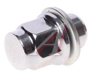 Гайка колеса М12х1.5х37 прессшайба закрытая ключ 21мм RACING RACING, 26586/26587/90942-01021