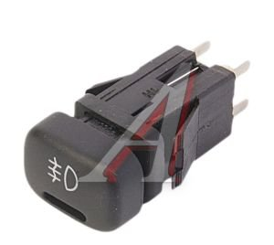 Выключатель кнопка ВАЗ-2115,2123 противотуманных фонарей АВАР 99.3710-07.02, 996.3710-07.02