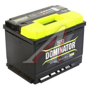 Аккумулятор DOMINATOR 55А/ч обратная полярность 6СТ55з, 83195