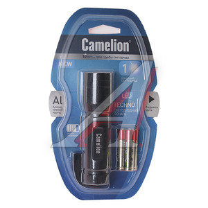 Фонарь светодиодный 1W CAMELION (блистер) матово-черный LED5117-1W, C-5117-1W,